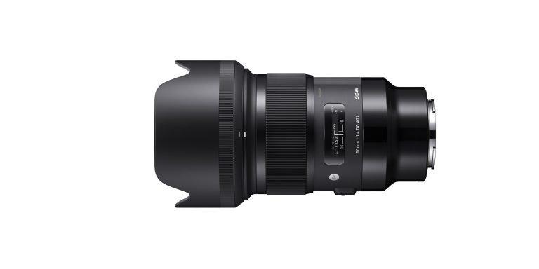 Начинается отгрузка объективов Sigma 50mm F1.4 DG HSM   Art и Sigma 85mm F1.4 DG HSM   Art в вариантах с креплением Sony E