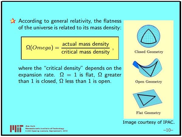 Ранняя вселенная 1. Инфляционная Космология: является ли наша вселенная частью мультивселенной? Часть 1 - 11
