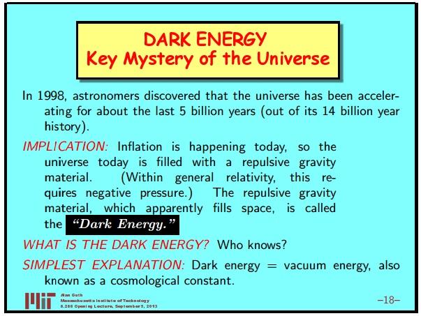 Ранняя вселенная 1. Инфляционная Космология: является ли наша вселенная частью мультивселенной? Часть 1 - 19