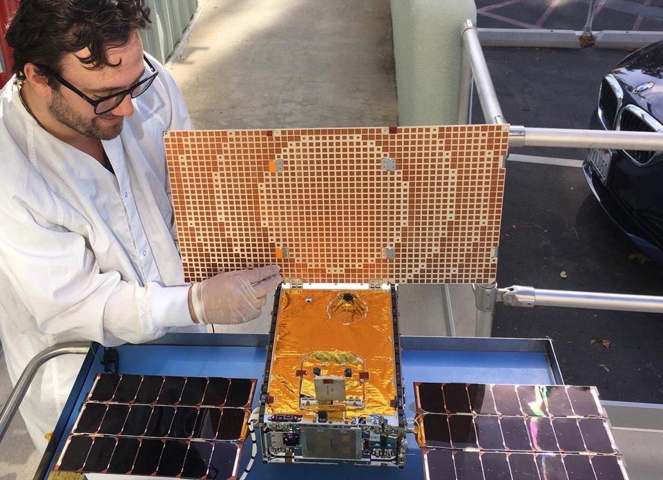Кубсат MarCO повторил снимок Pale Blue Dot - 2