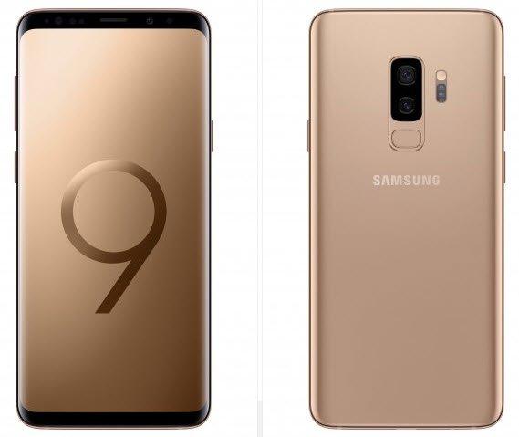 Смартфон Samsung Galaxy S9 скоро появится в цвете Sunrise Gold, в том числе и в России