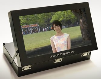 Japan Display и NHK создали дисплей светового поля, формирующий объемное видео, которое видно невооруженным глазом
