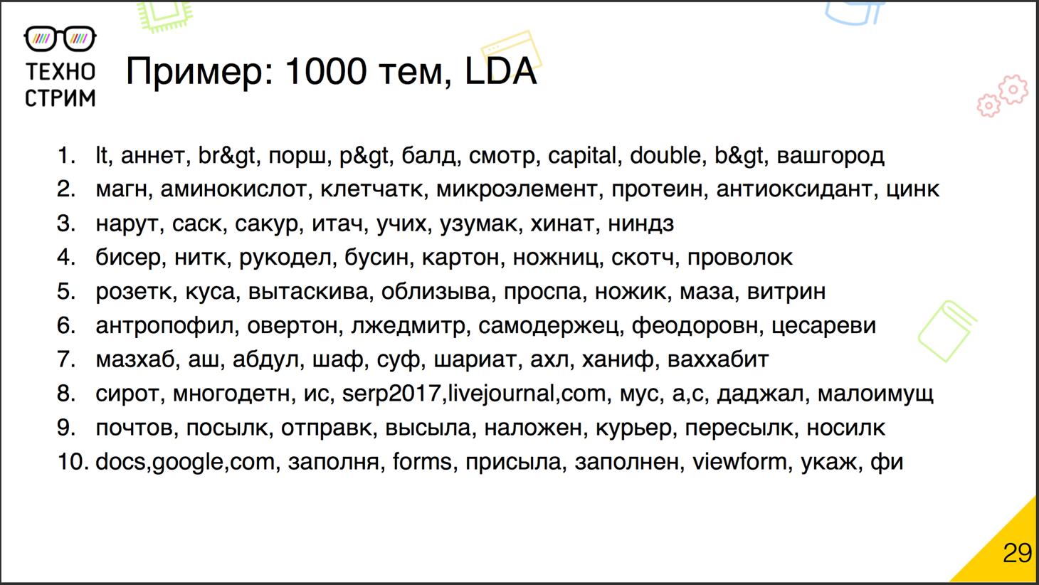 Обработка текстов на естественных языках - 15