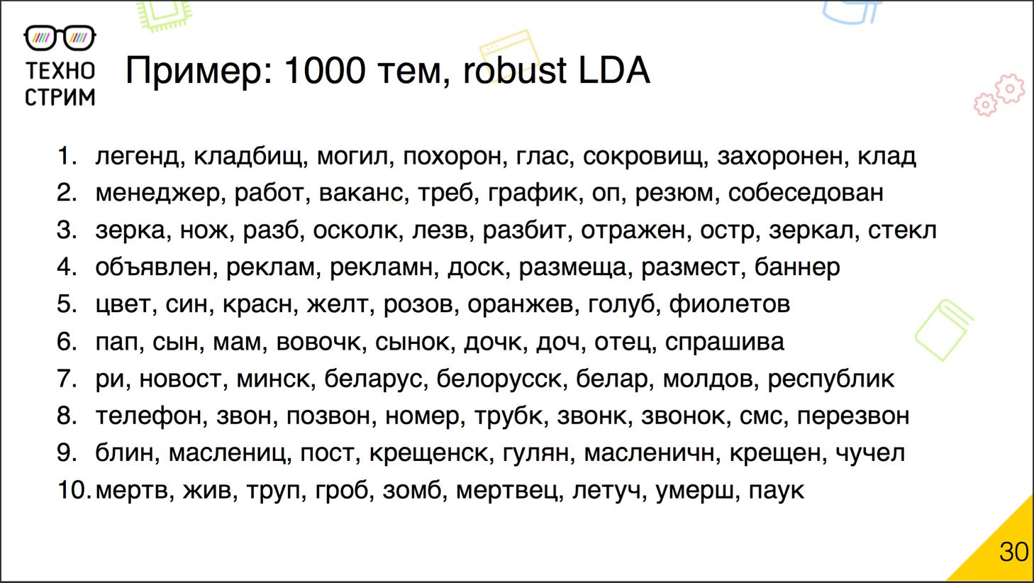Обработка текстов на естественных языках - 16