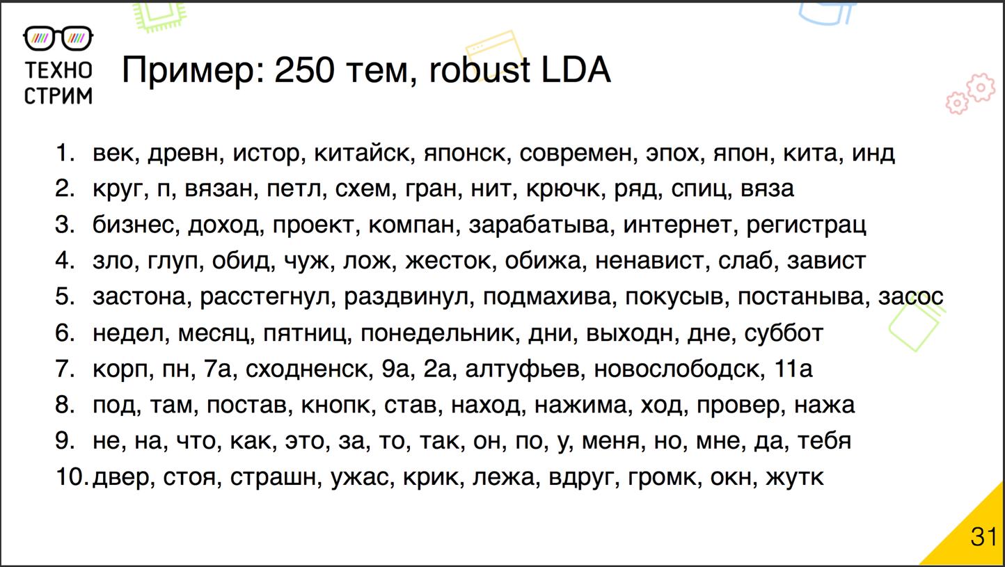 Обработка текстов на естественных языках - 17