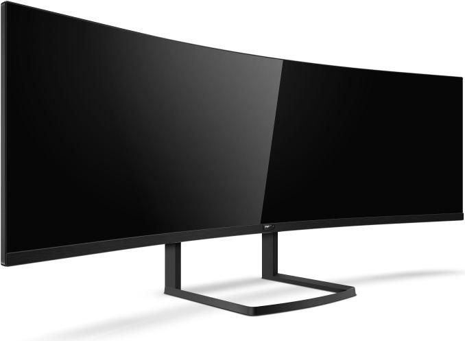 Philips Brilliance 492P8 на базе матрицы VA Samsung диагональю 49 дюймов и разрешением 5120 х 1440 пикселей