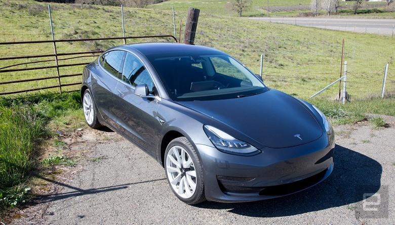 Двухмоторная версия Tesla Model 3 будет разгоняться до 100 км/ч за 3,5 с
