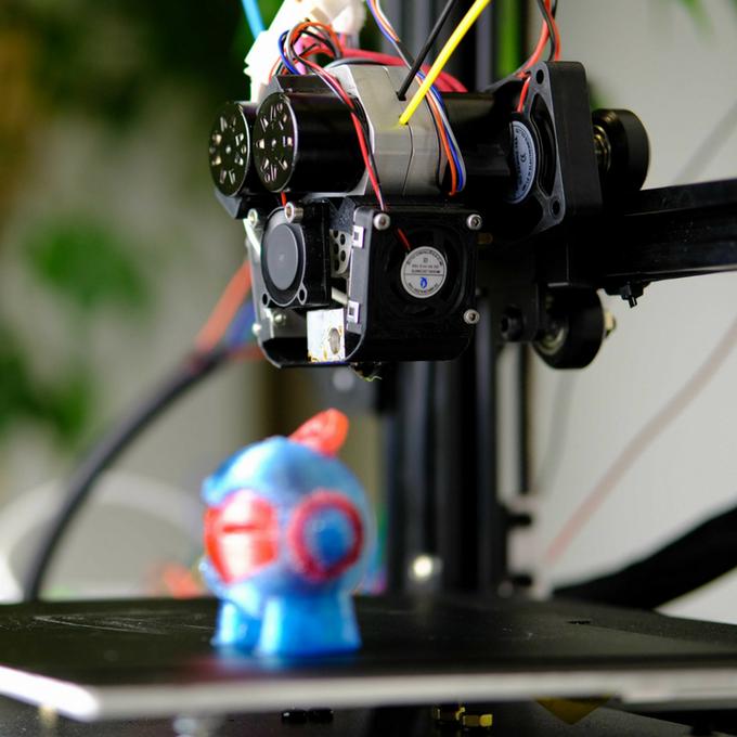 Головка QuadFusion обеспечивает полноцветную 3D-печать методом послойного наплавления