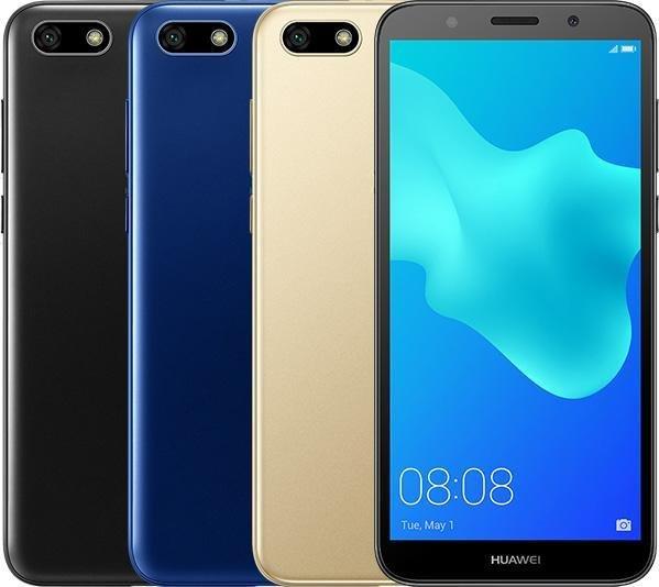 Описание смартфона Huawei Y5 Prime (2018) появилось на сайте производителя