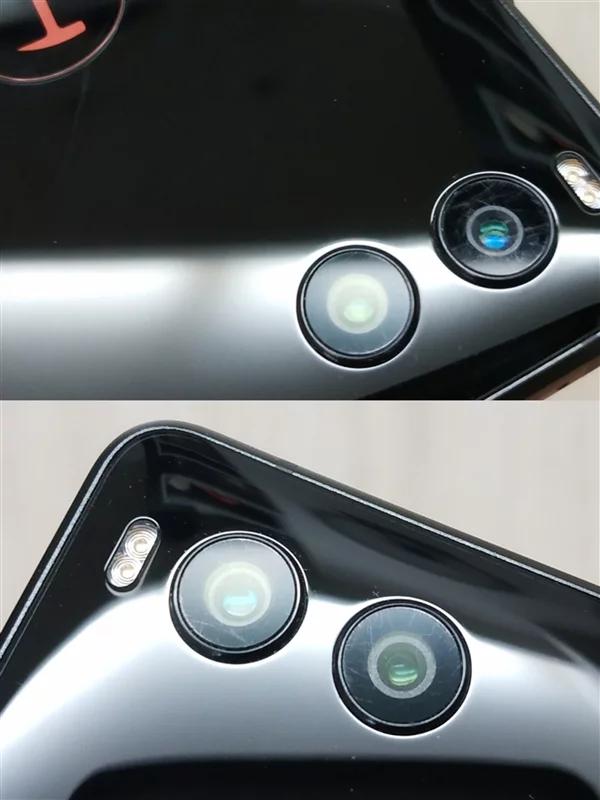 Камера смартфона Smartisan R1 с 1 ТБ флэш-памяти покрывается царапинами через несколько дней использования