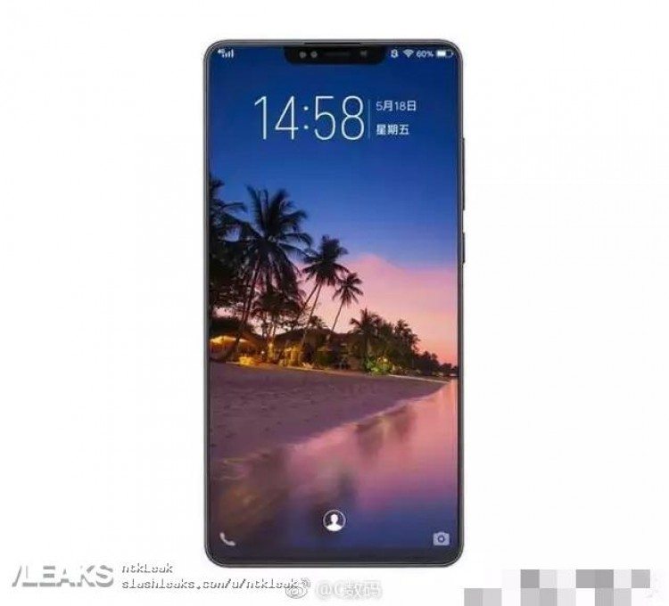 Опубликована наиболее вероятная версия дизайна нового флагмана Xiaomi