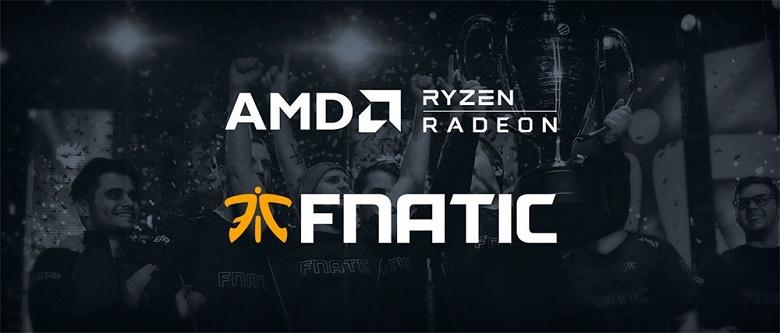 Крупная киберспортивная организация выбрала AMD в качестве поставщика комплектующих и ПК для своих команд