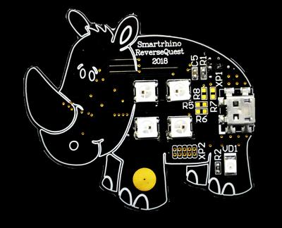 Реверс-инжиниринг прошивки устройства на примере мигающего «носорога». Часть 1 - 1