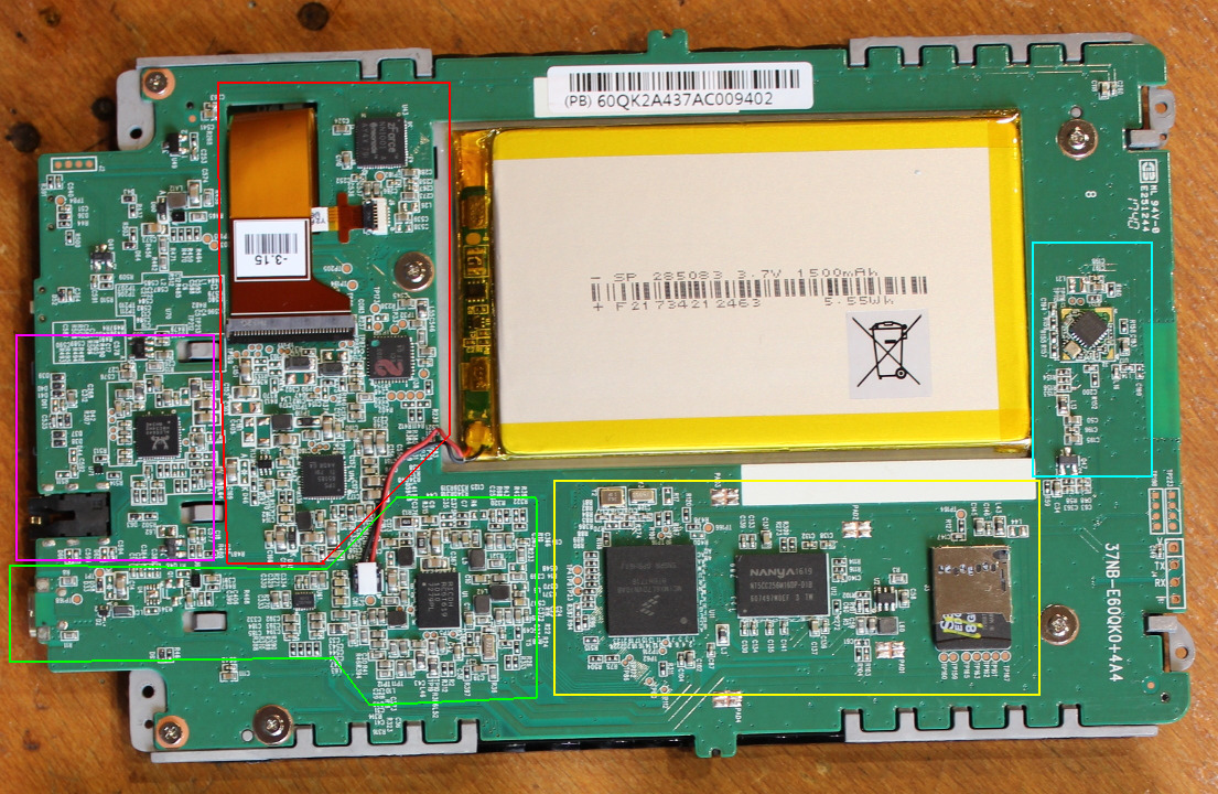 Суровый хенд-мейд от инженера-электронщика: разбираем PocketBook 631 Plus и оснащаем его солнечной батареей - 7