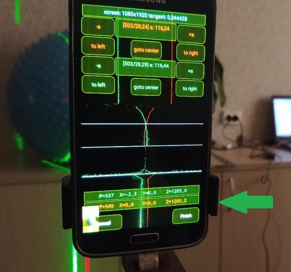 3D лазерный сканер на Android телефоне - 7