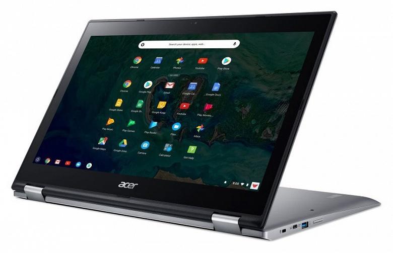 Трансформируемый хромбук Acer Chromebook Spin 15 получил экран размером 15,6 дюйма