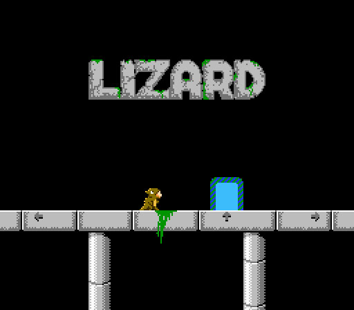 Lizard NES game