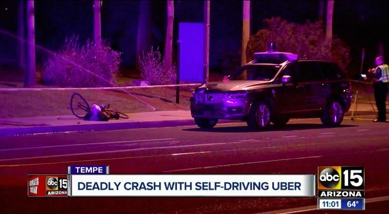 Uber пока отказываетс я от испытаний беспилотных машин в Аризоне