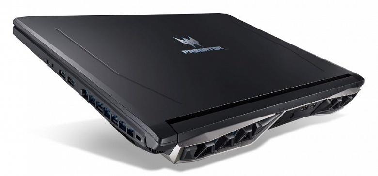 Основой игрового ноутбука Acer Predator Helios 500 служит процессор Intel Core i9 и 3D-карта Nvidia GeForce GTX 1070