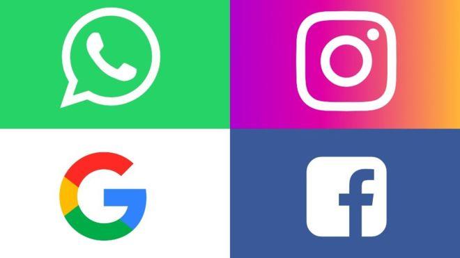 Google и Facebook обвиняют в нарушении законов о ВВП