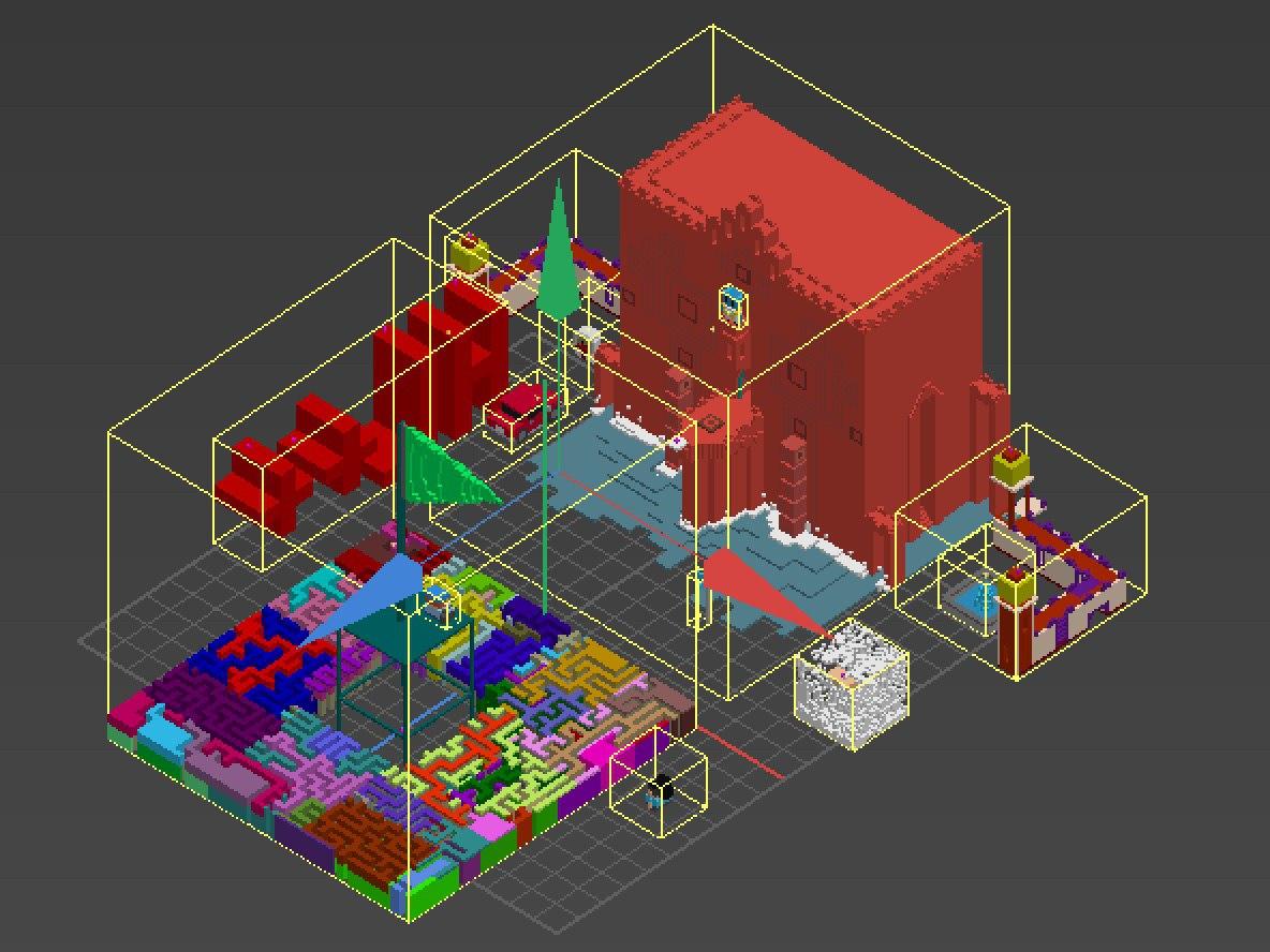 Как мы сделали игру для Highload++ с воксельной графикой и VR - 1