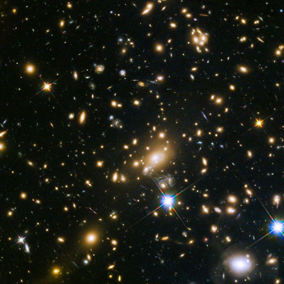 Астрономы подтвердили обнаружение второй по удалённости от нас галактики - 6