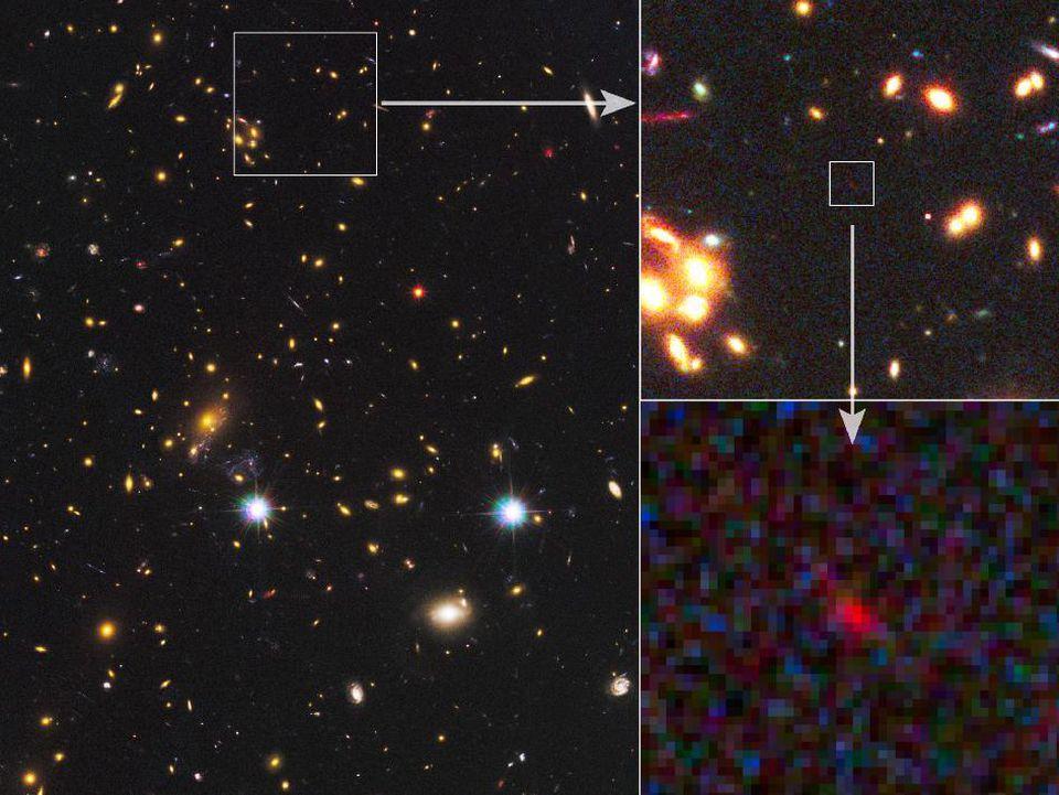 Астрономы подтвердили обнаружение второй по удалённости от нас галактики - 1
