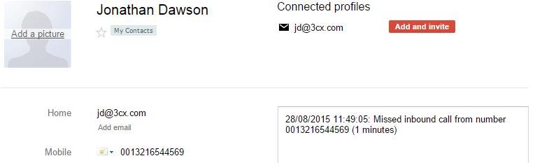CRM-интеграция 3CX с Google Contacts - 9