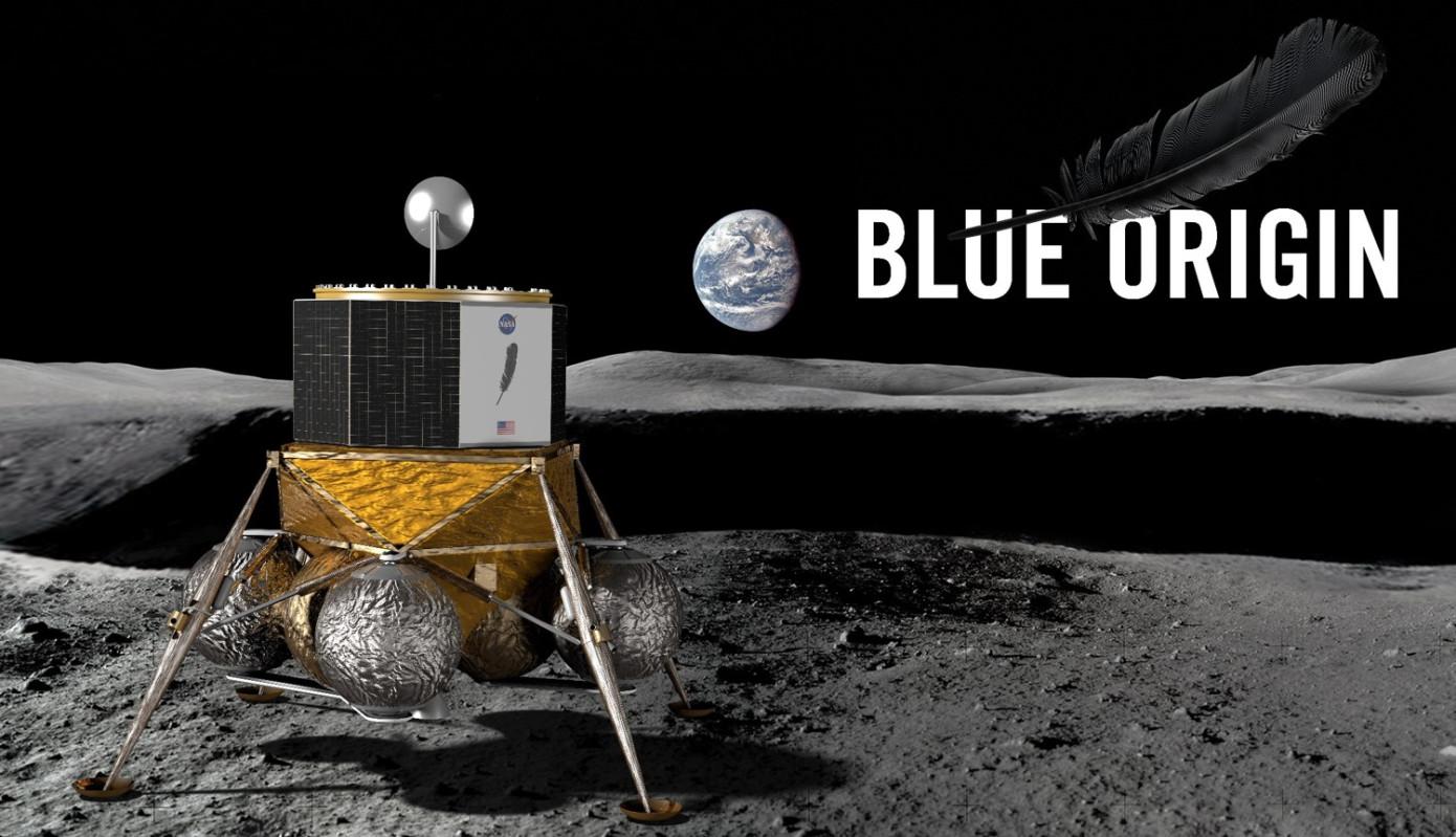Джефф Безос собирается построить колонию на поверхности Луны - 1