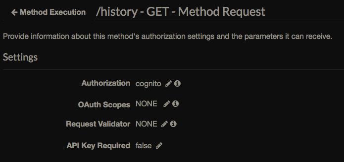 aws apigateway authorizer cognito