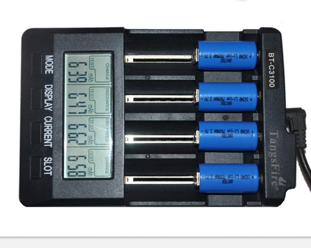 Заряжаем АА, ААА и другое цилиндрическое и аккумуляторное - 7