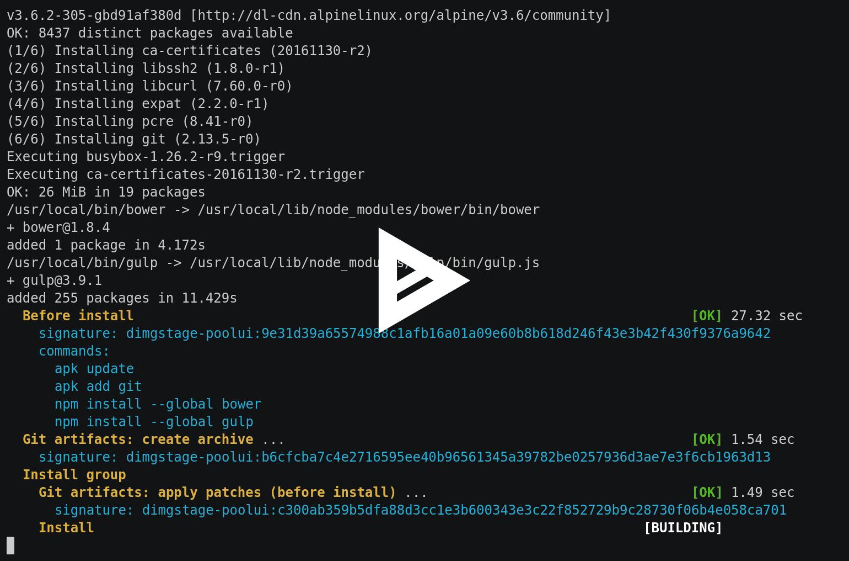 Сборка проектов с dapp. Часть 2: JavaScript (frontend) - 4