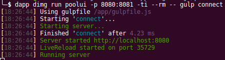 Сборка проектов с dapp. Часть 2: JavaScript (frontend) - 6