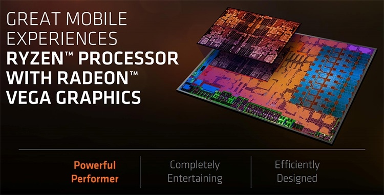 Ryzen 7 2800H и Ryzen 5 2600H возглавят семейство мобильных APU AMD