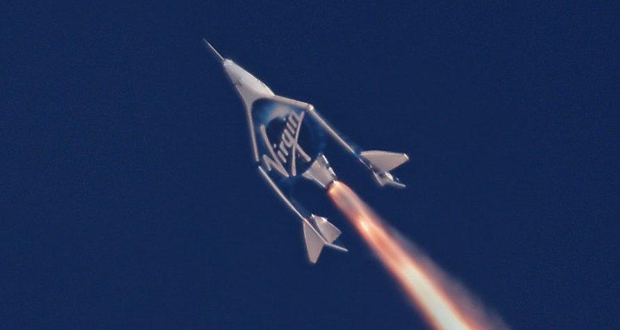 Космоплан VSS Unity совершил второй полет с включением ракетного двигателя