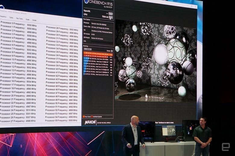 Intel обещает выпустить 28-ядерный процессор, работающий на частоте 5 ГГц