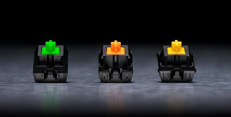 Механические переключатели Razer Mechanical Switches скоро появятся в клавиатурах других компаний