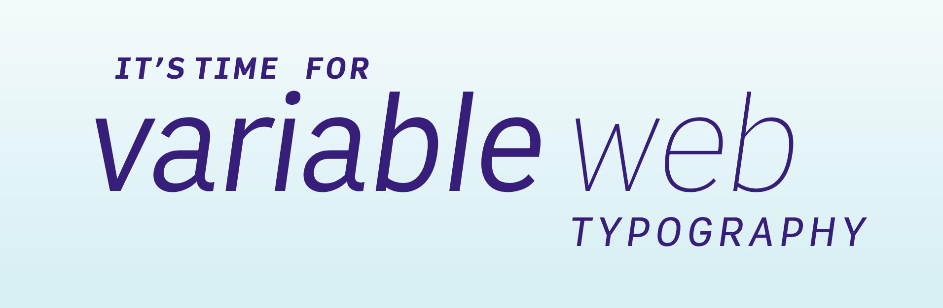 Вариативные веб шрифты - 2