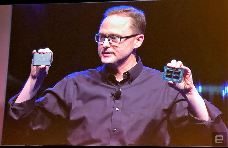 AMD анонсировала 32-ядерный процессор Ryzen Threadripper