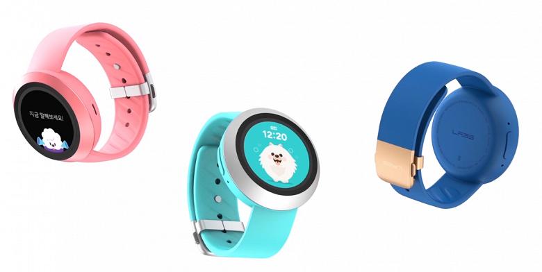 Naver Labs AKI — детские умные часы на платформе Samsung с голосовым ассистентом и платёжной системой