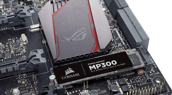 Бюджетные SSD Corsair MP300 типоразмера M.2 поддерживают NVMe