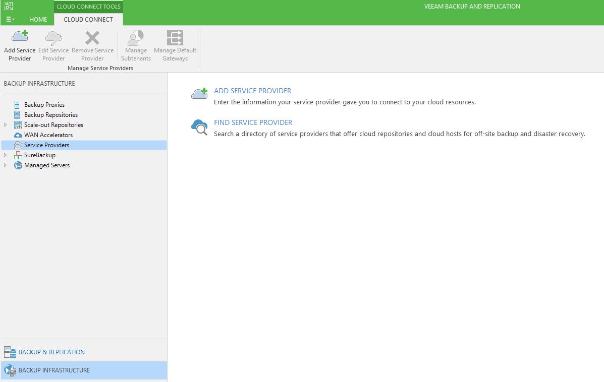 Работа с Veeam Availability Console: настройка управляемого резервного копирования Managed Backup Services - 14