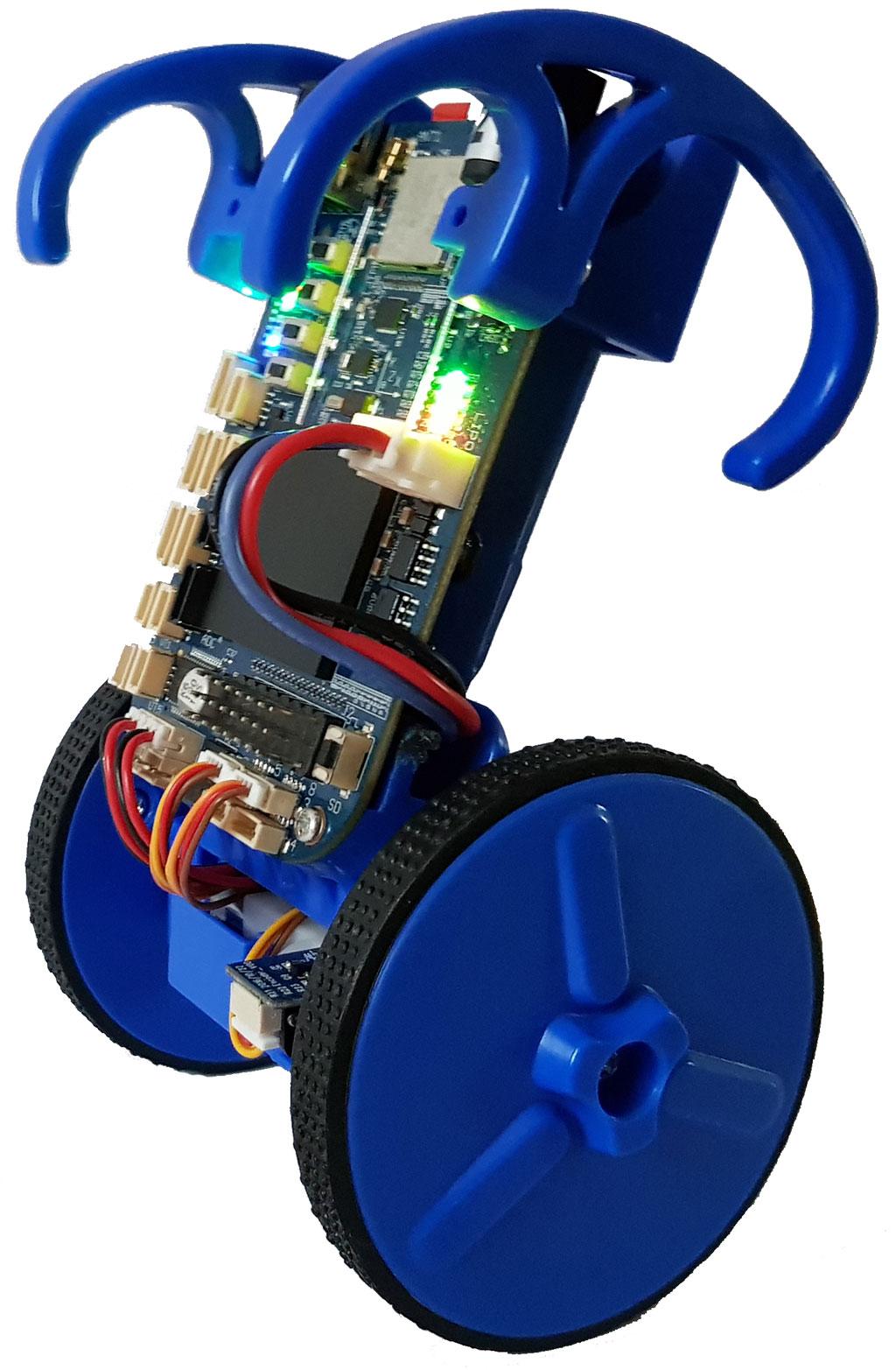 Запуск ROS на самобалансирующем роботе EduMIP - 1
