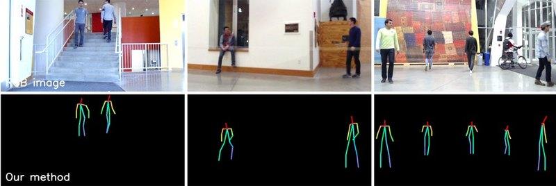 ИИ «научился» отслеживать движения людей через стену