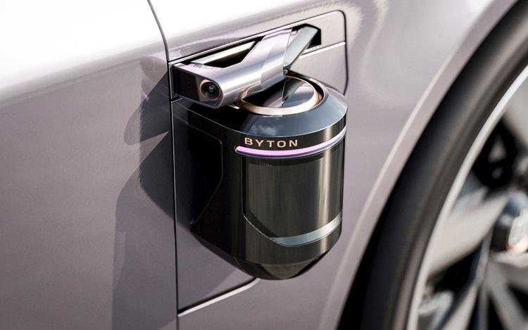 Byton K-Byte Concept: электрический седан с автопилотом