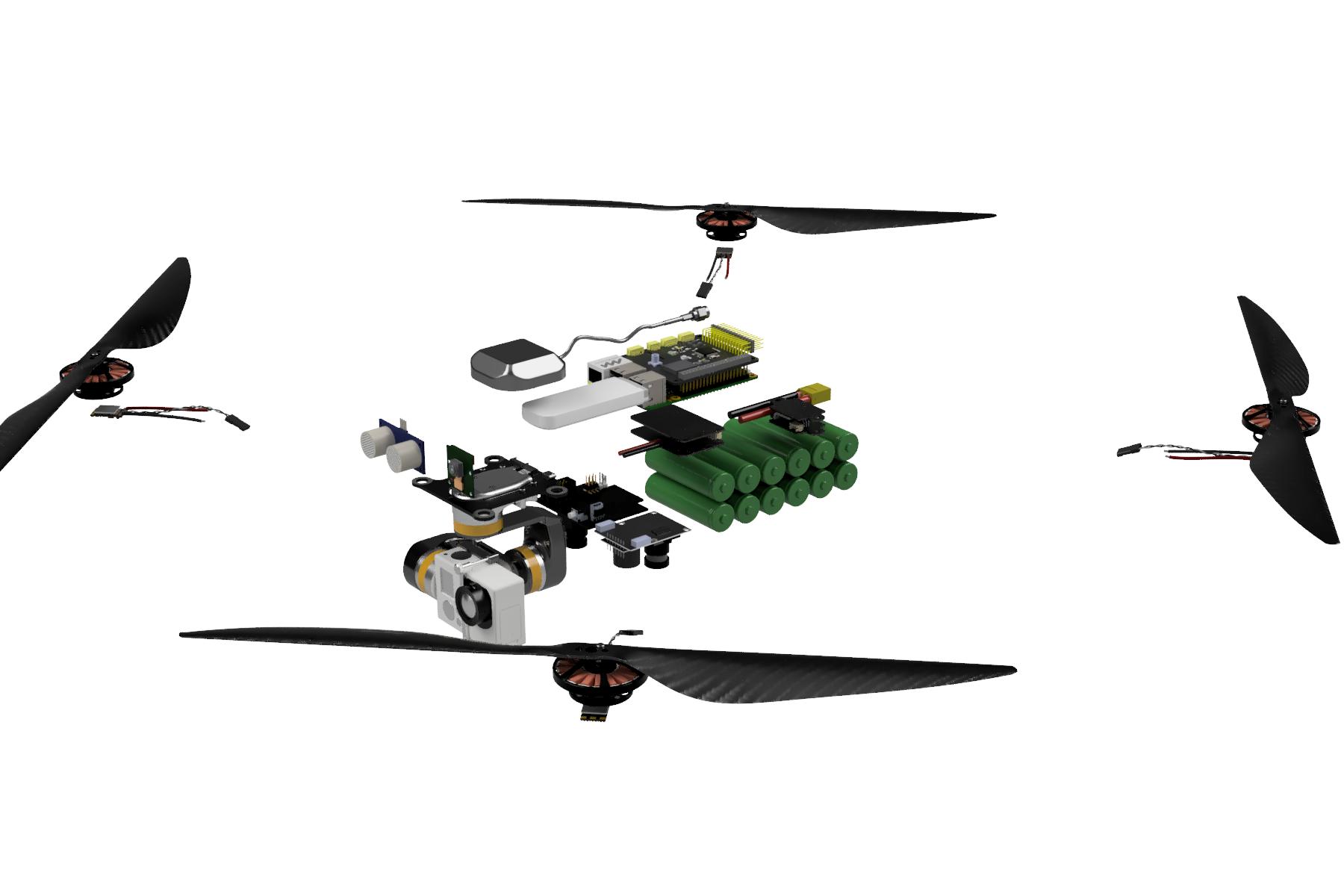 DIY автономный дрон с управлением через интернет - 12