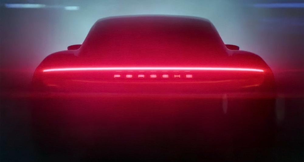 Porsche опубликовала новый видеотизер электромобиля Taycan
