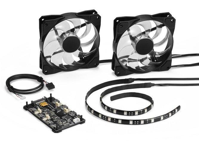 Sharkoon выпускает набор для подсветки Pacelight RGB Illumination Set