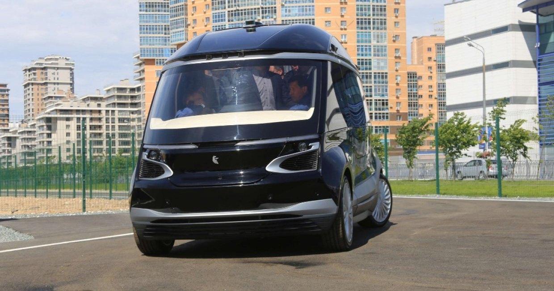 КамАЗ показал беспилотный электрический автобус