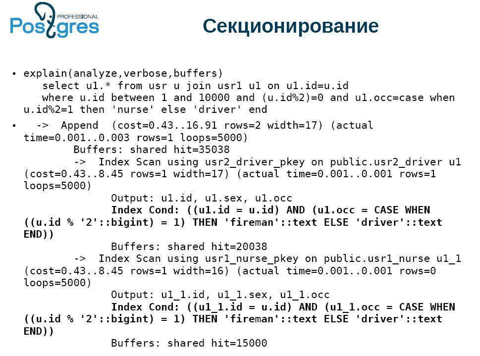 По следам meetup «Новые возможности PostgreSQL 11» - 5